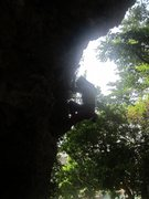 Rock Climbing Photo: Silhouette Emma