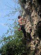 Rock Climbing Photo: Karson doin the thang