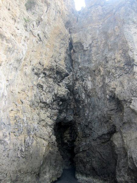Rock Climbing Photo: A trad line?!?!