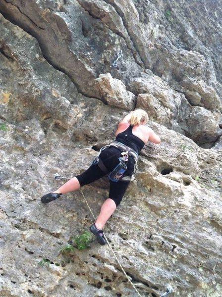 Climbing in Texas