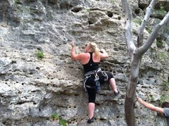 Rock Climbing Photo: Living it up in Austin
