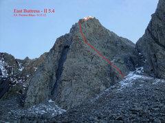 Rock Climbing Photo: East Buttress of Torre De Mierda.