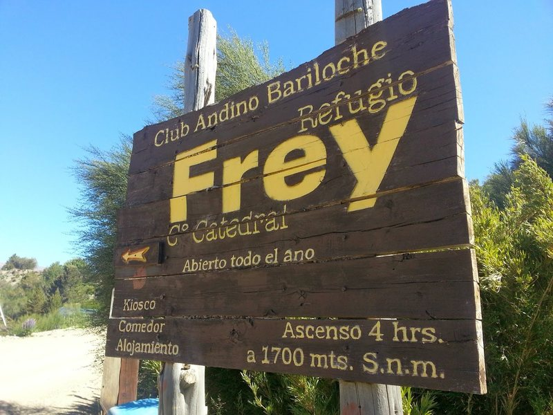 Start of Hike to Frey