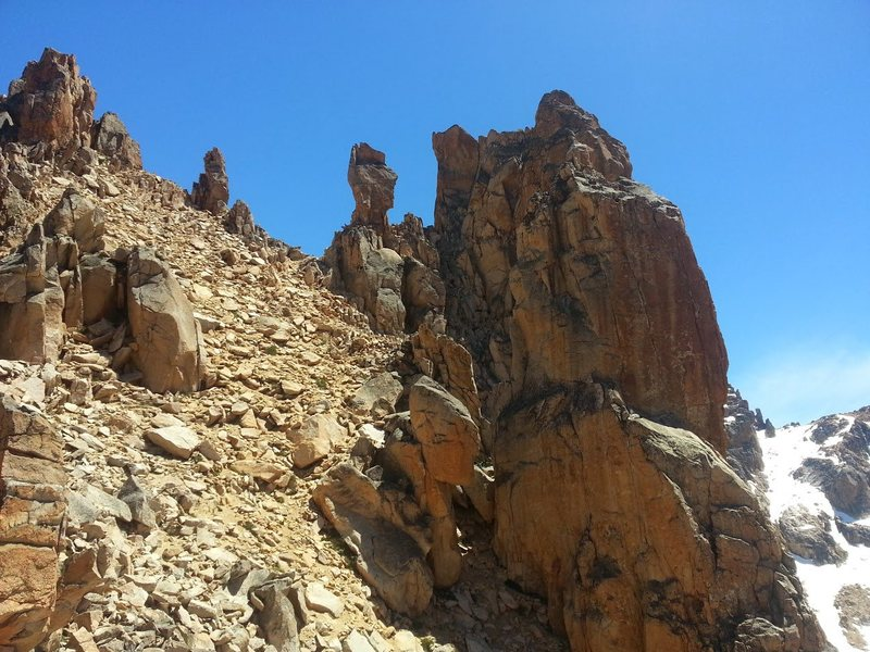 Rock Climbing Photo: Aguja M2 East Side