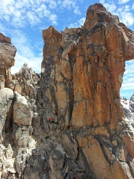 Rock Climbing Photo: El Abuelo West Side