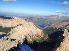 Rock Climbing Photo: Next Valley South from Refugio Frey