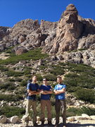 Rock Climbing Photo: We Climb, and Apparently Also Wear Blue Shirts