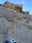Rock Climbing Photo: Follow the yellow brick road
