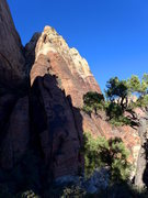 Rock Climbing Photo: the E Arete; unless you like vegetated runout clim...