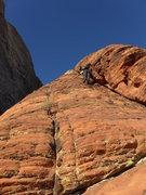 Rock Climbing Photo: on the ridge proper with pretty good rock