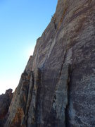Rock Climbing Photo: Aeolian Wall from the route