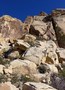 Rock Climbing Photo: one of the first set of downclimbs/raps on the des...