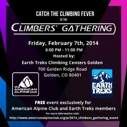 AAC and Earth Treks climber's party.