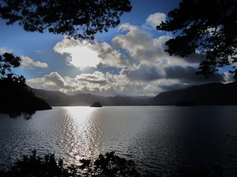 January 2014 Derwentwater . Lake District