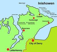 Inishowen Rock Climbing Locations