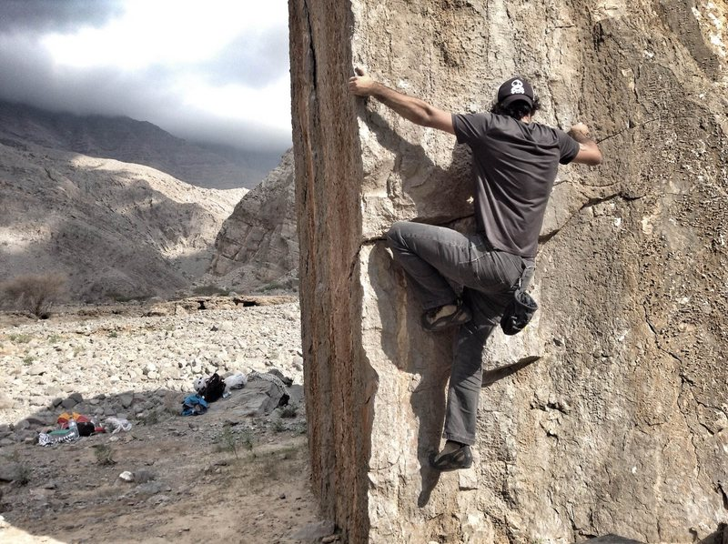 Rock Climbing Photo: Bouldering at the Cube