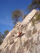 Rock Climbing Photo: Climber on Sunny Day (5.8)