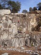 Rock Climbing Photo: The Streaks