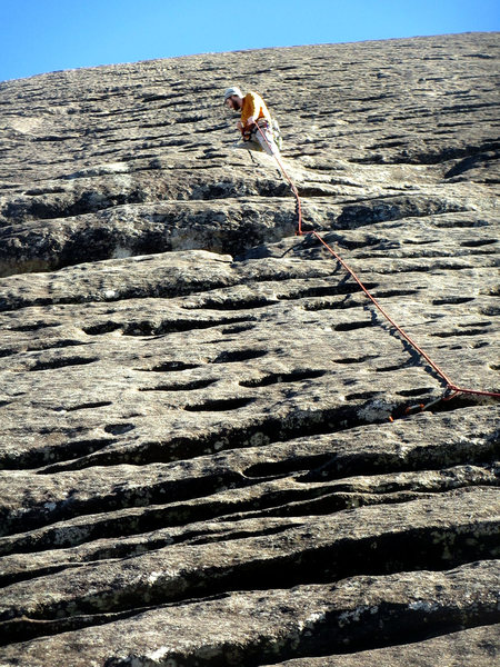 Rock Climbing Photo: 22 degrees...