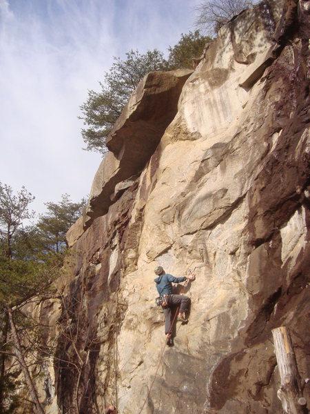 Rock Climbing Photo: Hilliard Step