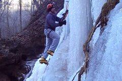 Rock Climbing Photo: Got to like the Polar Vortex