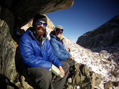 Rock Climbing Photo: Aaron L and Timmy O and I at Sky Pond RMNP. for th...