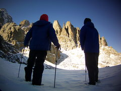 Rock Climbing Photo: Aaron L and Timmy O. At Sky Pond RMNP. December 20...