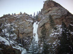 Rock Climbing Photo: Hully Gully - Colorado Springs.  Winter Break Dece...