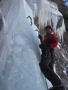 Rock Climbing Photo: Vail Ice - The Firehouse. With Mike Walley.  Janua...