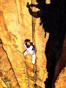 "Rock Climbing Photo: the upper part of ""bob's"" on a glorious ..."