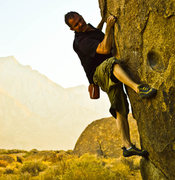 Rock Climbing Photo: the only line I found that was easily accessible.....