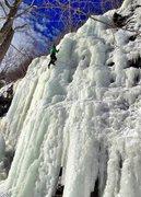 Rock Climbing Photo: Pitchoff Right - Lake Placid, NY