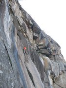 Rock Climbing Photo: Peter Whitmore casually strolling up.