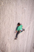 "Rock Climbing Photo: Lonnie Kauk, ""Holey Wars"", 13b/c at the ..."