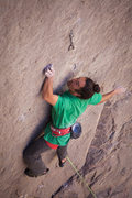 Rock Climbing Photo: Lonnie Kauk, (the FAist; thanks to Todd Graham for...