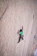 Rock Climbing Photo: Lonnie Kauk, (the First Ascencionist; thanks to To...