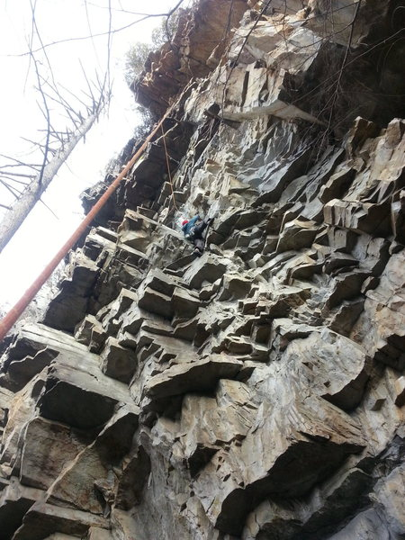 Rock Climbing Photo: Somewhere near Linville.