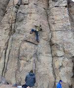 Rock Climbing Photo: Wooly Bully.  Photo Mazzi Childers.