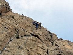 Rock Climbing Photo: Near the finish.  Photo: Mazzi Childers.