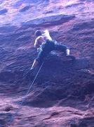 Rock Climbing Photo: Bon Ez, Black Corridor, Red Rock