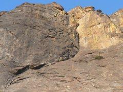 Rock Climbing Photo: The Siege
