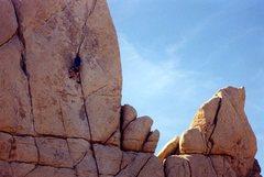 Rock Climbing Photo: Sail Away on lead.