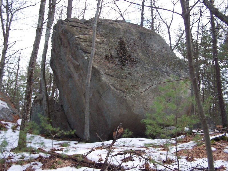 Another shot of the 3rd boulder.