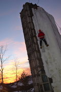 Rock Climbing Photo: sunset