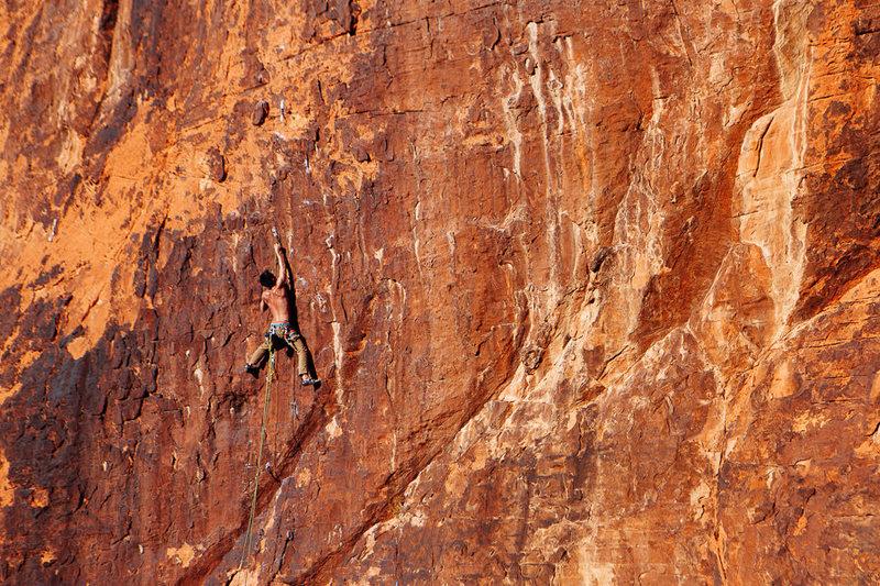 Rock Climbing Photo: Tainiko Lowman - January 10th, 2014.