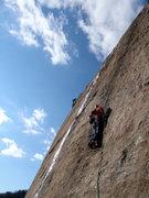 Rock Climbing Photo: Pitch 2. Photo credit: T.