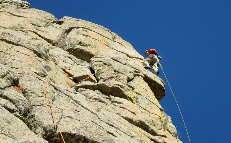 George leads the spectacular finish on the last pitch.