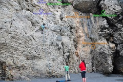 Rock Climbing Photo: The other bolts