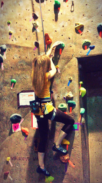 Rock Climbing Photo: Gym training