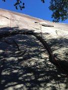 Rock Climbing Photo: Fleet Feet, 5.10 - Super Classic!